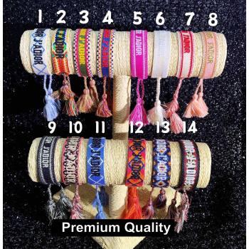 Dior J adior Woven Bracelet 01 (youfang-9537)