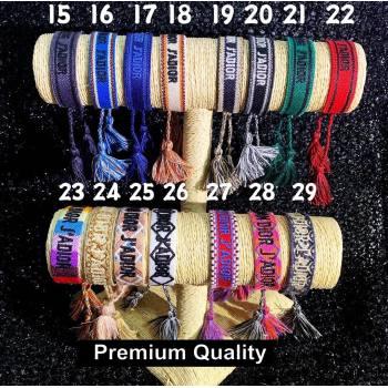 Dior J adior Woven Bracelet 02 (youfang-8937)