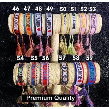 Dior J adior Woven Bracelet 04 (youfang-8207)