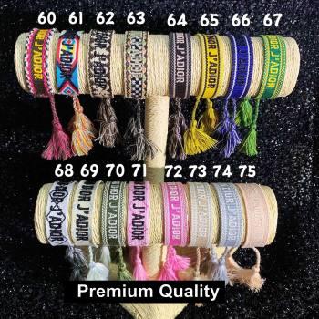 Dior J adior Woven Bracelet 05 (youfang-8210)