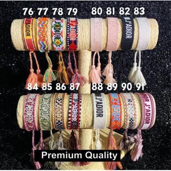 Dior J adior Woven Bracelet 06 (youfang-8520)