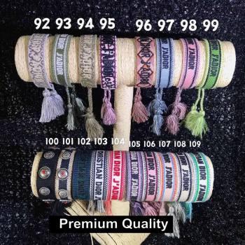Dior J adior Woven Bracelet 07 (youfang-8367)