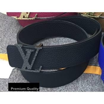 Louis Vuitton Width 4cm LV Initiales Belt LV26 (senjia-20081026)