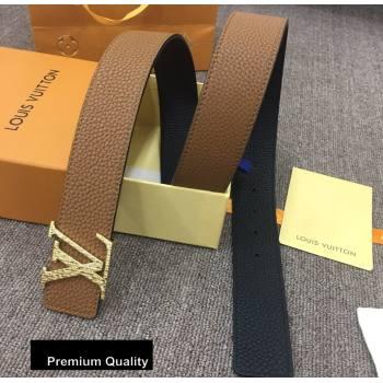 Louis Vuitton Width 4cm LV Initiales Belt LV23 (senjia-20081023)