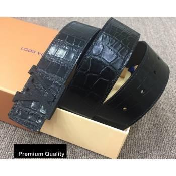 Louis Vuitton Width 4cm LV Initiales Belt LV29 (senjia-20081029)