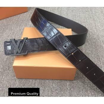 Louis Vuitton Width 4cm LV Initiales Belt LV30 (senjia-20081030)