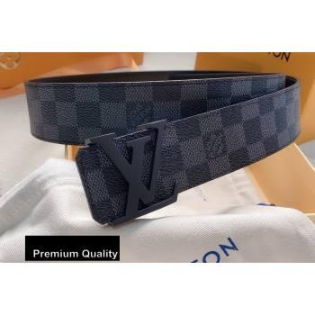 Louis Vuitton Width 4cm LV Initiales Belt LV38 (senjia-20081038)