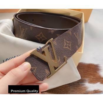 Louis Vuitton Width 4cm LV Initiales Belt LV39 (senjia-20081039)