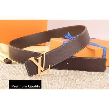 Louis Vuitton Width 4cm LV Initiales Belt LV14 (senjia-20081014)