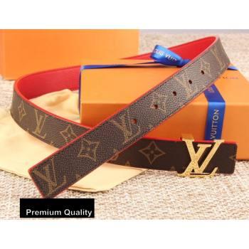 Louis Vuitton Width 3cm LV Initiales Belt LV16 (senjia-20081016)