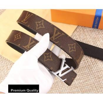 Louis Vuitton Width 3cm LV Initiales Belt LV17 (senjia-20081017)