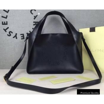 Stella Mccartney Stella Logo Cross Body Tote Bag Black (weijian-20082401)