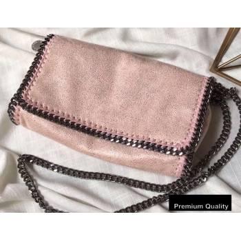 Stella Mccartney Falabella Cross Body Bag 22cm Pearl Pink (weijian-20082606)
