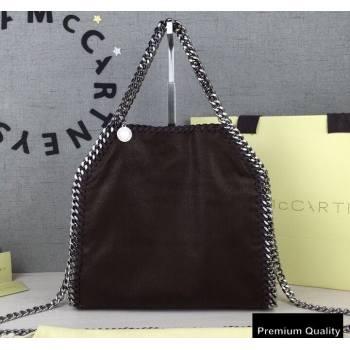 Stella Mccartney Falabella Mini Tote Bag Coffee/Silver (weijian-20082523)
