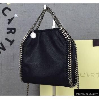 Stella Mccartney Falabella Tiny Tote Bag Black/Silver (weijian-20082541)
