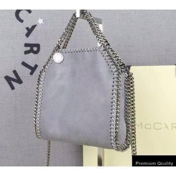 Stella Mccartney Falabella Tiny Tote Bag Gray (weijian-20082537)