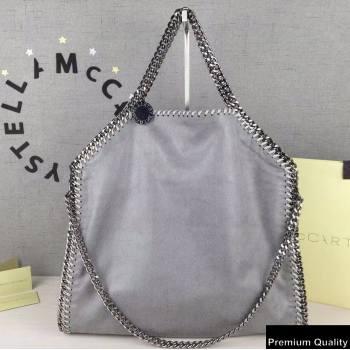 Stella Mccartney Falabella 3-chain Fold Over Tote Bag Gray (weijian-20082509)