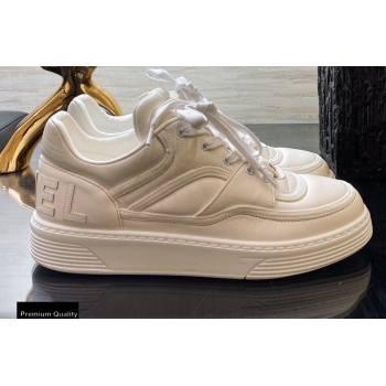 Chanel Top Quality Logo Sneakers G35063 White 2020 (xo-20100806)
