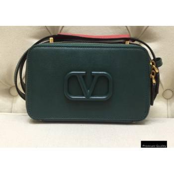 Valentino VSLING Calfskin Camera Bag Green 2020 (liankafo-20101404)