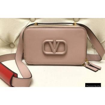 Valentino VSLING Calfskin Camera Bag Nude 2020 (liankafo-20101405)