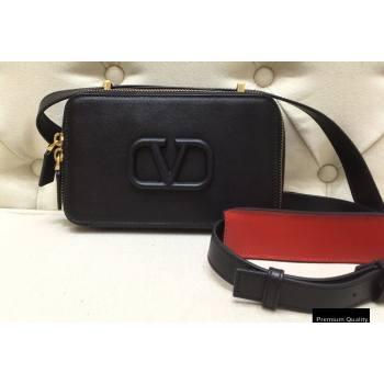 Valentino VSLING Calfskin Camera Bag Black 2020 (liankafo-20101401)