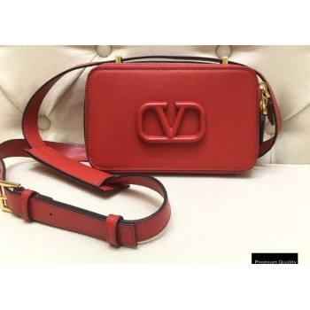 Valentino VSLING Calfskin Camera Bag Red 2020 (liankafo-20101403)