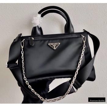 Prada Nylon Tote Bag with Detachable Pouch 1BG364 2020 (ziyin-20102334)