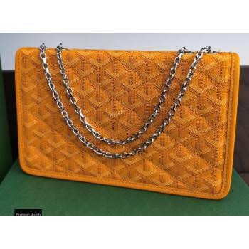 Goyard Alexandre III Bag Yellow (laimeng-20120410)
