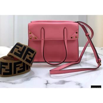 Fendi Flip Small Tote Bag Pink (chaoliu-20120816)