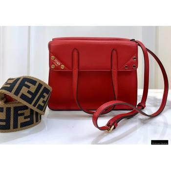 Fendi Flip Small Tote Bag Red (chaoliu-20120815)