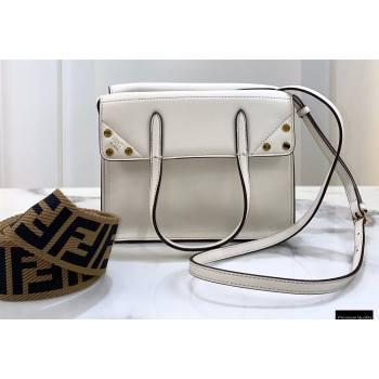 Fendi Flip Small Tote Bag White (chaoliu-20120819)