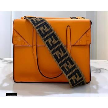 Fendi Flip Regular Medium Tote Bag Orange (chaoliu-20120813)