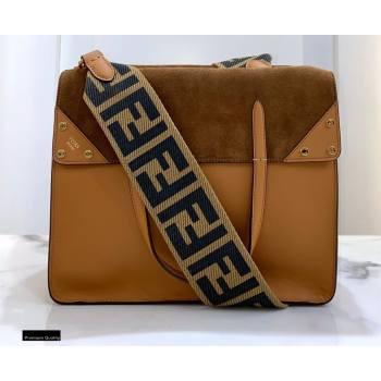 Fendi Flip Large Tote Bag Brown (chaoliu-20120802)