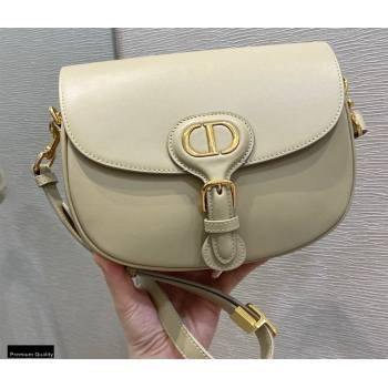 Dior Medium Bobby Bag in Box Calfskin Beige 2020 (vivi-20121502)