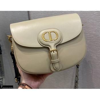 Dior Large Bobby Bag in Box Calfskin Beige 2020 (vivi-20121501)