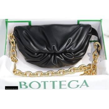 Bottega Veneta Nappa The Mini Pouch Bag Black (misu-20121877)