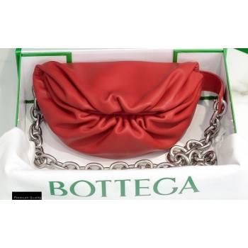 Bottega Veneta Nappa The Mini Pouch Bag Red (misu-20121879)
