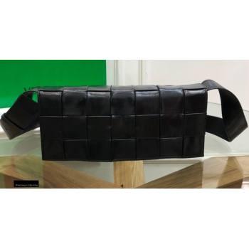 Bottega Veneta The Stretch Cassette Crossbody Bag Black (misu-20121866)