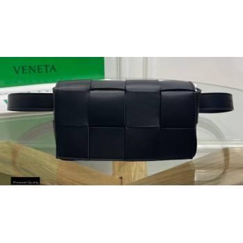 Bottega Veneta Nappa The Belt Cassette Bag Black (misu-20121859)