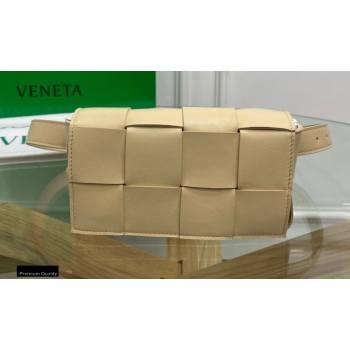 Bottega Veneta Nappa The Belt Cassette Bag Porridge Yellow (misu-20121861)