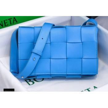 Bottega Veneta Nappa Cassette Crossbody Bag Bleu Blue (misu-20121854)