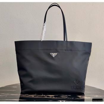 Prada Re-Nylon Medium Tote Bag 1BG107 Black 2021 (ziyin-21011114)