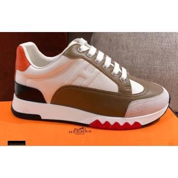 Hermes Trail Sneakers in Calfskin 07 2021 (kaola-21012618)