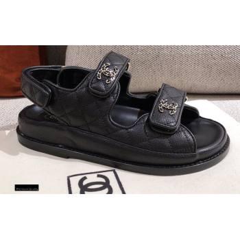 Chanel CC Logo Beach Sandals G35927 06 2021 (kaola-21011606)