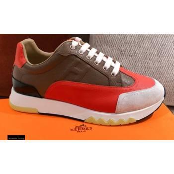 Hermes Trail Sneakers in Calfskin 05 2021 (kaola-21012616)
