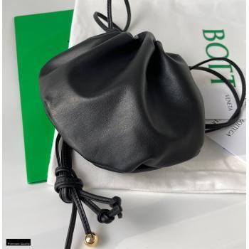 Bottega Veneta THE MINI BULB Shoulder Bag in Nappa Black 2021 (misu-21012306)