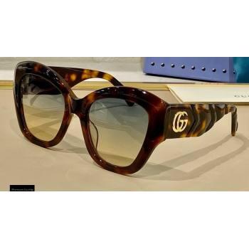 Gucci GG0808 Sunglasses 02 2021 (shishang-21022502)