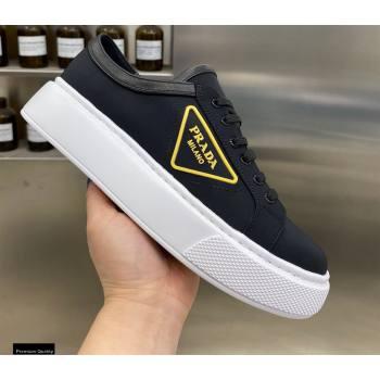 Prada Logo Gabardine Sneakers 03 2021 (modeng-21030409)