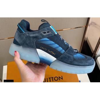 Louis Vuitton A View Mens Sneakers Blue 2021 (modeng-21030471)
