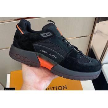 Louis Vuitton A View Mens Sneakers Black 2021 (modeng-21030469)